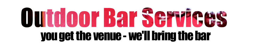 Outdoor Bar Services Banner