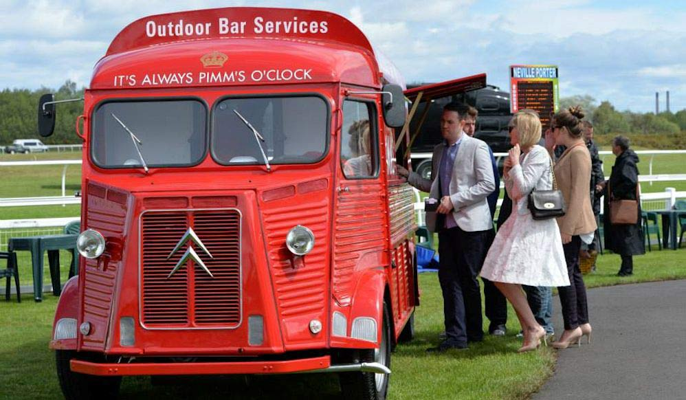 Patsy pimms at East Lothian event & Pimms Truck | Patsy Pimms | Pimms Bar